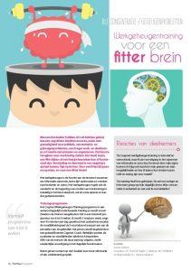 Werkgeheugentraining voor een fitter brein